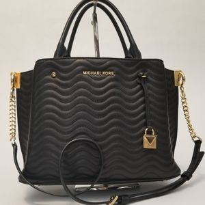 Michael Kors QUILTED LEATHER CONVERTIBLE P…